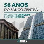 56 anos do Banco Central. Um olho nas conquistas e outro no futuro.